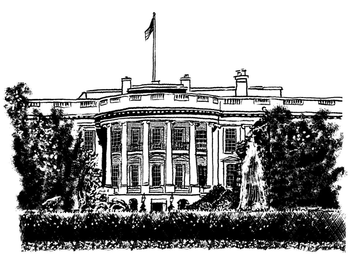 Tom Bachtell / The New Yorker illustration of the White House